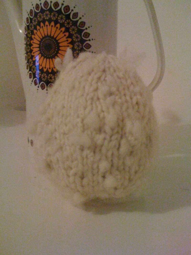 knitted egg