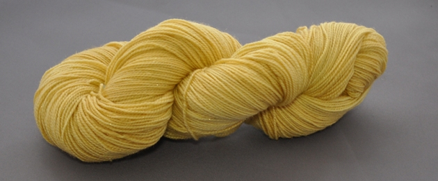 solar sock yellow peril yarn cafe