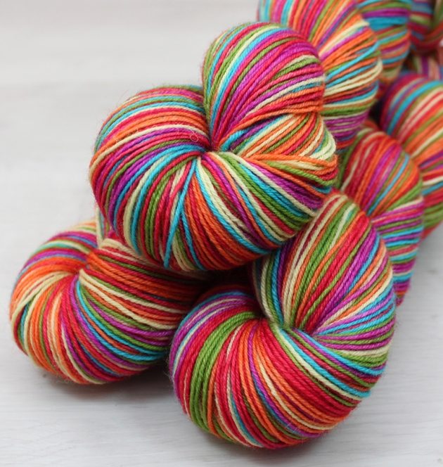 Tropical Rainbow Deep, SELF STRIPING