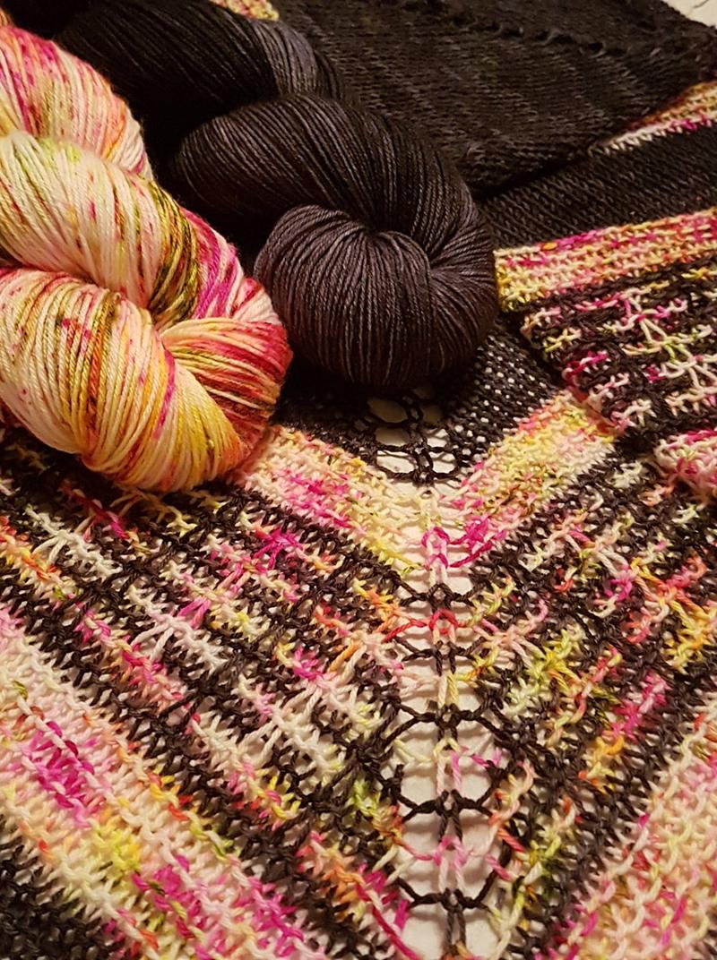 Summer nights shawl kit - 1